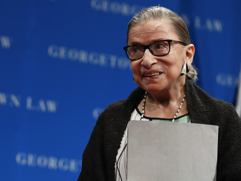 Justice Ruth Bader Ginsburg suffers fall with three broken ribs