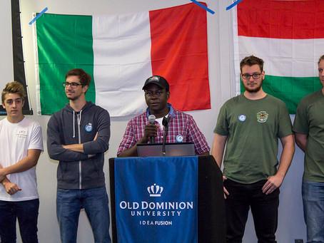 European students gather for Global Café