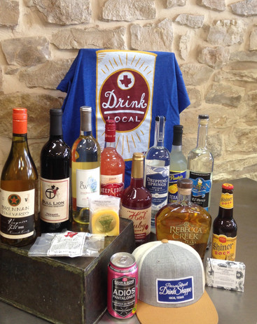 Assortment of Items at Pecan Street Drink Shoppe