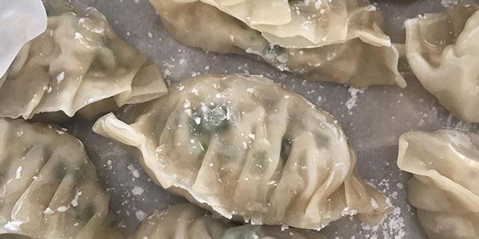 Mandoo (gyoza/dumpling) class