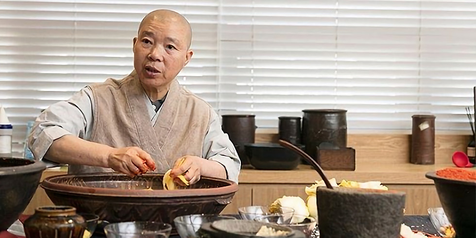 Korean Temple Cuisine Workshop