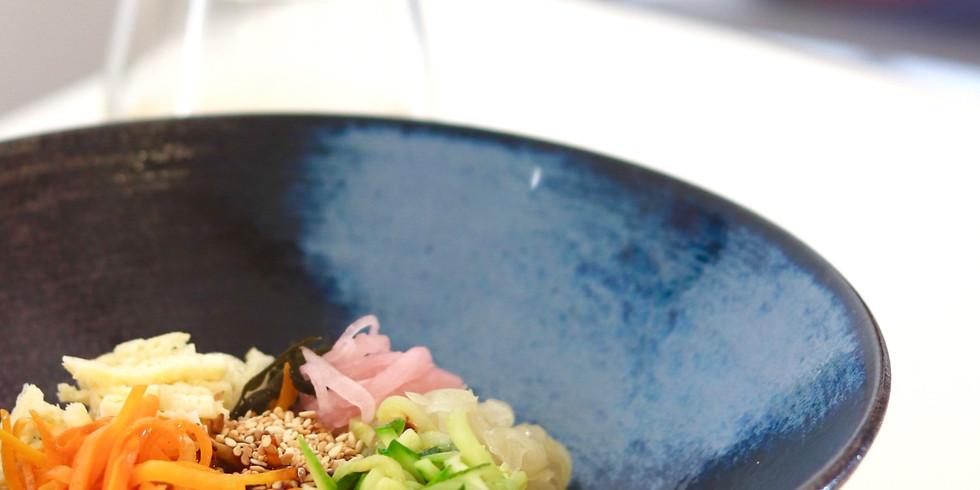 Korean cooking #1 Bibimbap