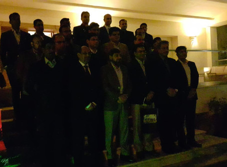 Study tour of the participants of 49th  Pakistan Naval Staff Course, Lahore to Tunisia