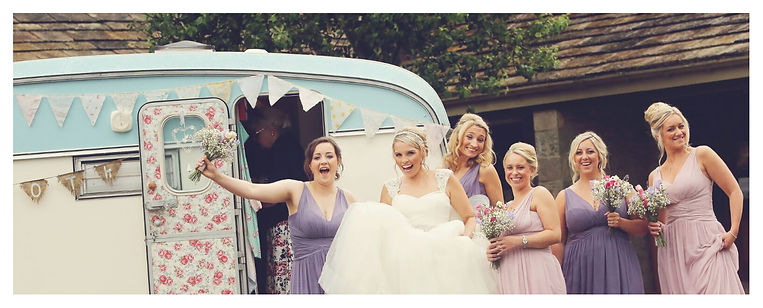 Daisy Vintage Caravan wedding group