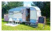 Daisy Vintage Caravan on location