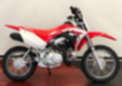 NEW 2020 HONDA CRF110F FUEL INJECTED
