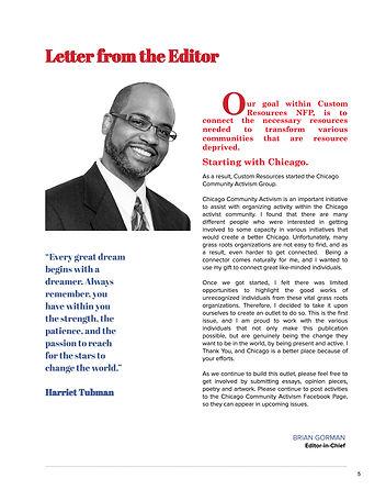 Chicago Community Activism Magazine Feb