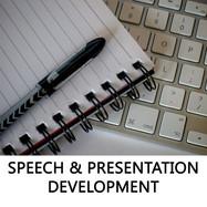 SPEECH & PRESENTATION DEVELOPMENT
