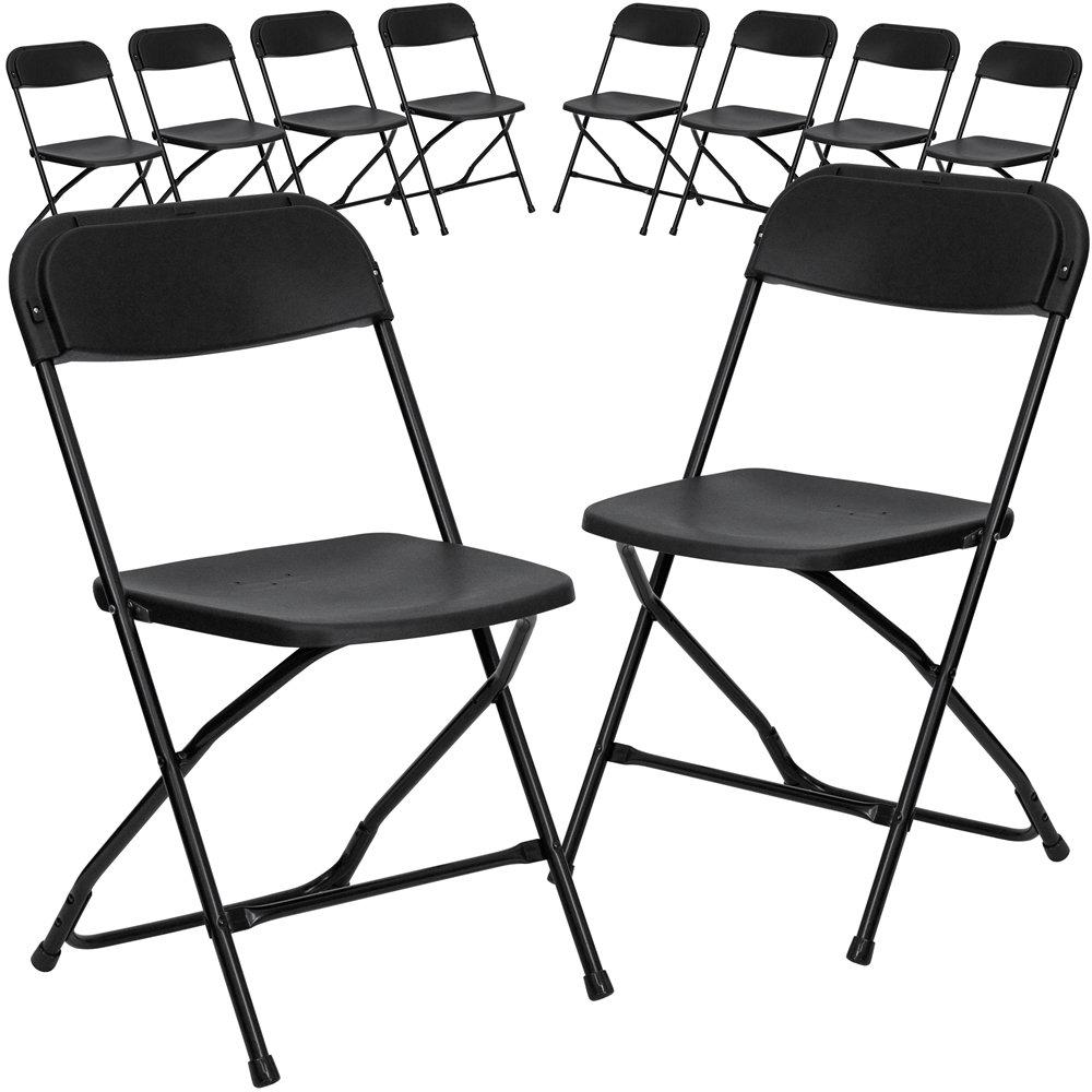 Premium Plastic Folding Chair- 650lb Cap