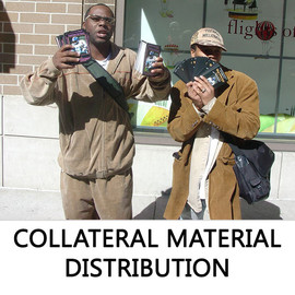 COLLATERAL MATERIAL DISTRIBUTION