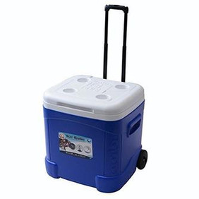 Wheeled IGLOO Ice Cube Cooler