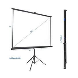 "Portable 100"" Projector Screen"