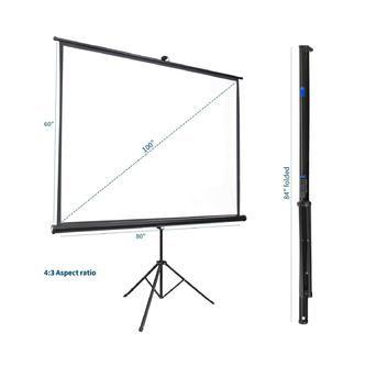 "Portable 100"" Projector Screen (Single)"