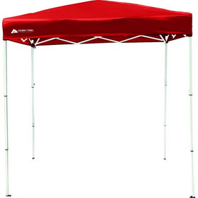 Red Canopy 4 x 6 Tent