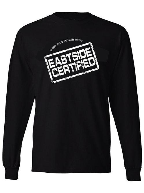 Eastside Certified Long Sleeve Black Tee