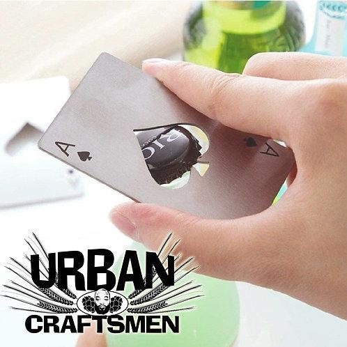 URBANcraftsmen Stainless Steel Ace of Spades Bottle Opener 2 pack
