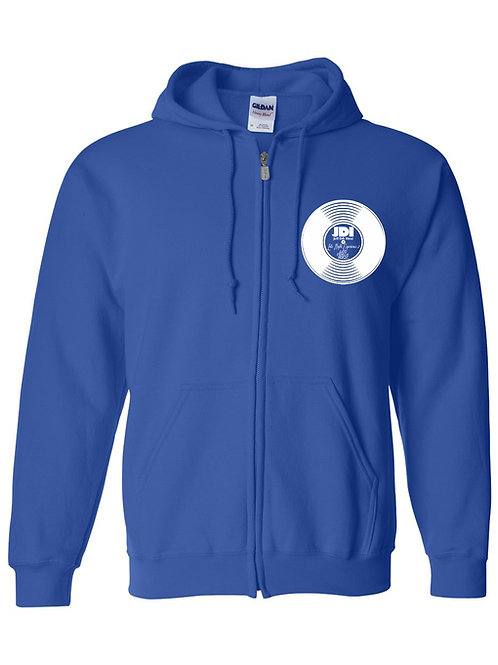 EXCLUSIVE Late Night Edition 2 Blue Zipup Hoodie w/ Album