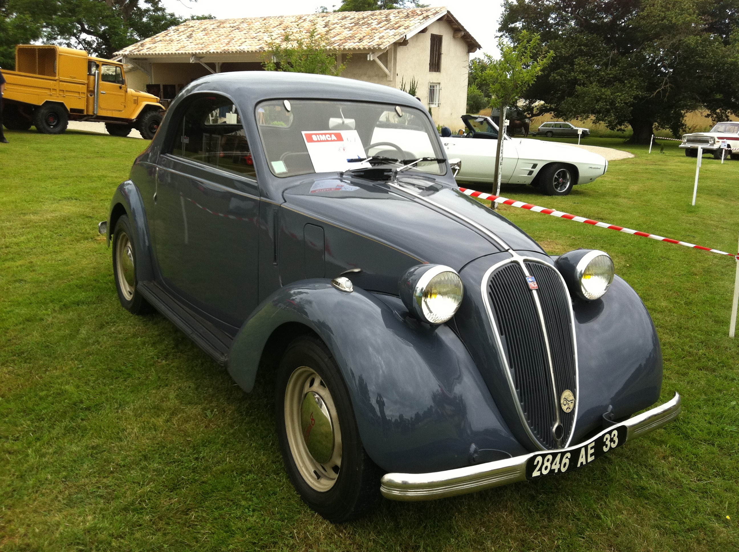 SIMCA 8 COUPE-1949