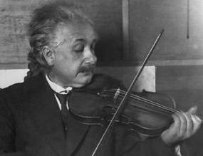 Music In Westchestr: Albert Einstein playing violin
