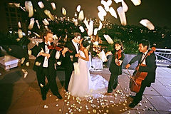 String Quartet NYC Wedding Rooftop