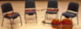 NYC String Quartet Instruments