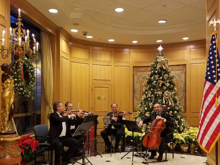 Holiday Concerts with Art-Strings in NYC