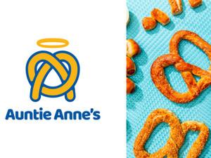 Auntie Anne's Monogram Pretzel  Logo Mark Redesign