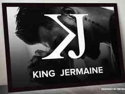 """KJ"" Minimalist Monogram Logo Mark Design"