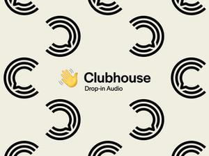 Clubhouse Monogram App Logo Mark Redesign