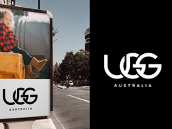 UGG Shoes Fashion Logo Mark Redesign, Clothing Branding & Identity Creation Inspiration
