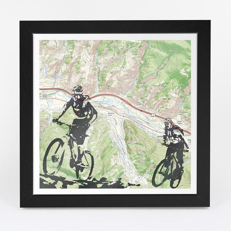 Mountain Biking Adventure Map