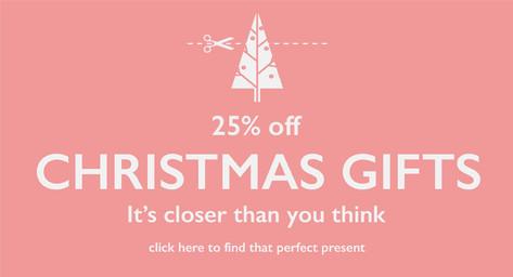 25% B&H Christmas Gifts