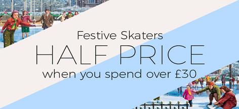 Half Price Skaters Banner