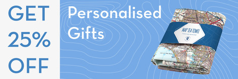 Email 25% off Personalised Gifts