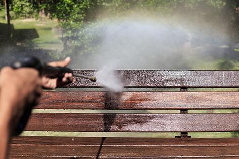 Power Washing Bench
