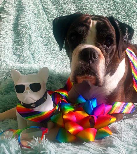 Cindy & Charliecelebrating the Pride