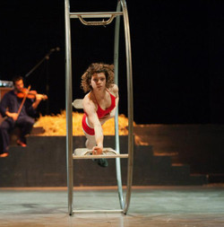 Elisa Zanlari performance ruota
