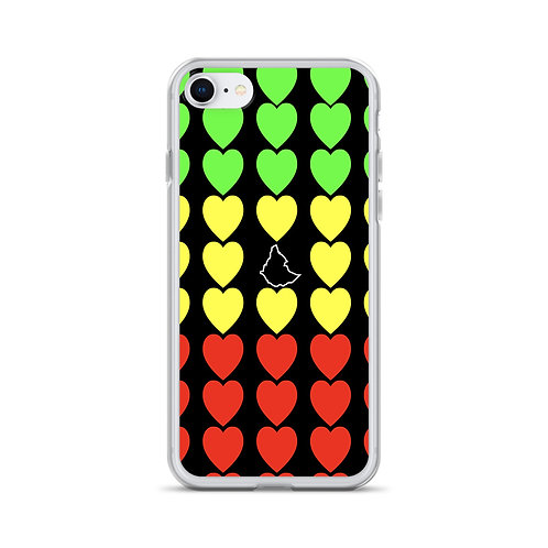 Ethiopian Flag, iPhone Case