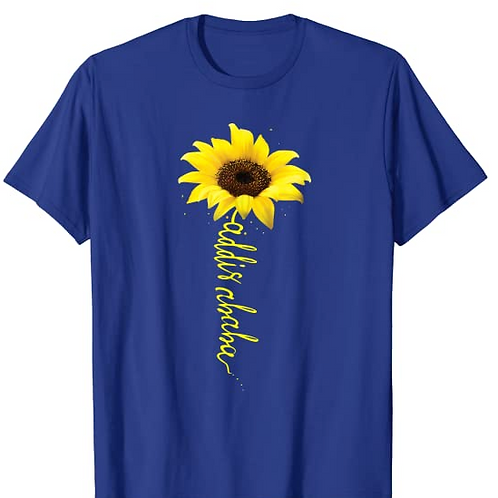 Addis Ababa, Sunflower T-Shirt