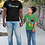 Thumbnail: Ethiopian Fathers Day Gift T-Shirt, Happy Fathers Day T-Shirt in Amharic