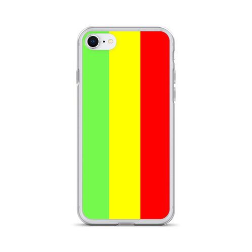 Ethiopian Flag, iPhone Case