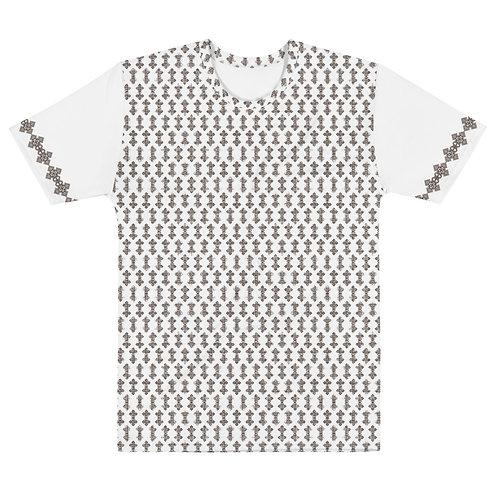 Ethiopian Cross All-Over Print Unisex T-shirt