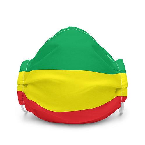 Premium face mask, Ethiopian Flag