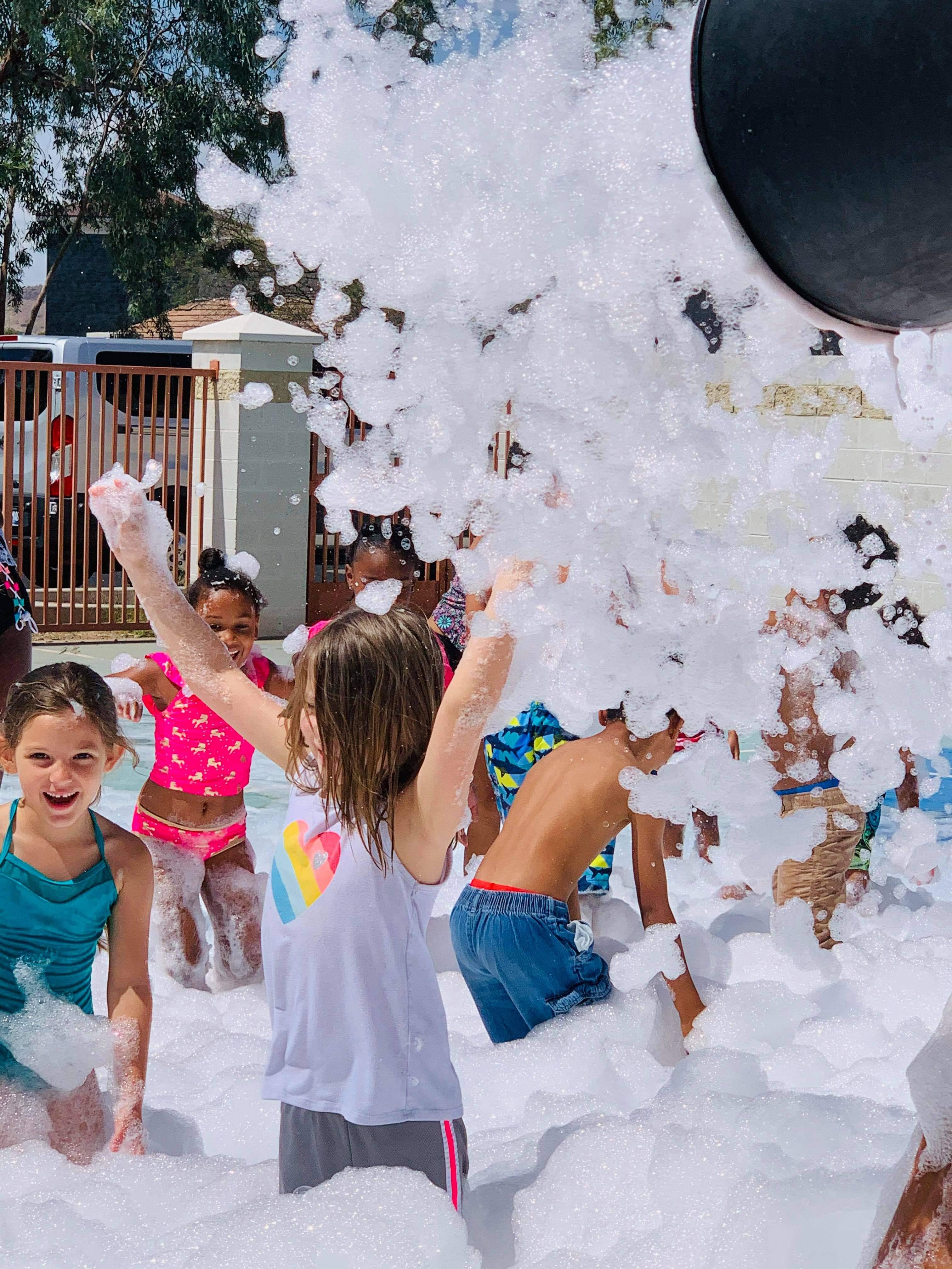 1 Hour Weekday Foam Parties