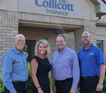 Collicott Insurance team