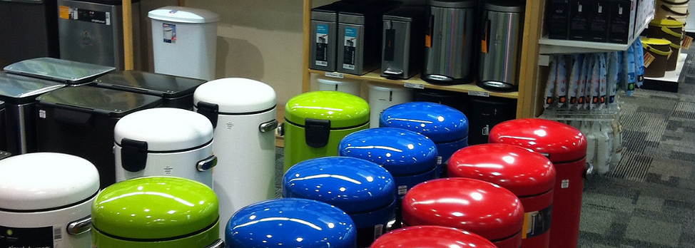 Trashcans and wastebaskes at The Container Store