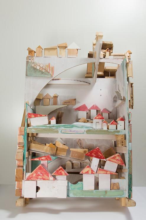 Cradle ; Wood; 120x65x80 ; 2014