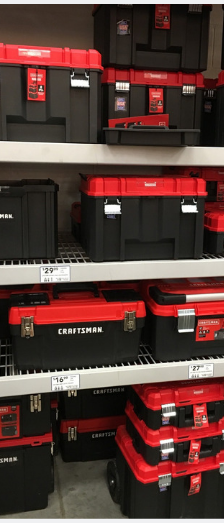 Craftsman tool boxe at Lowe's Home Improvement