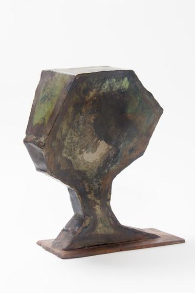 Tree III (2008); Metal Sheets; 29x27x11.jpg
