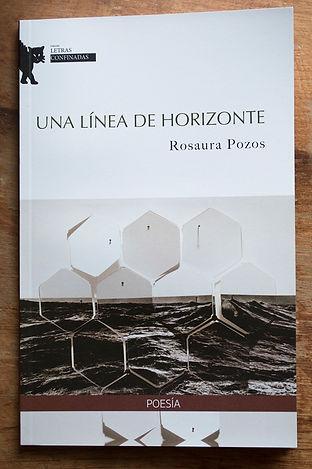 """Poemario """"Una línea de horizonte"""", de Rosaura Pozos"""
